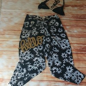 Victoria's Secret beach pants. Size S